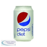 Diet Pepsi Cola Cans 330ml (24 Pack) 202428