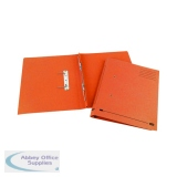 Elba Spirosoft Spring Foolscap Orange (25 Pack) 100090161