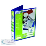 Elba Panorama Blue A4 Plus 25mm 2 D-Ring Presentation Binder (6 Pack) 400008412