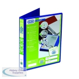 Elba Panorama Blue A4 Plus 25mm 4 D-Ring Presentation Binder (6 Pack) 400008415
