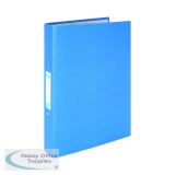 Elba A4 Blue 25mm Paper Over Board Ring Binder (10 Pack) 400033496