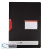 Black n\' Red A4 Clip File (5 Pack) 400063613