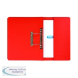 Elba Strongline Spring Pocket File Foolscap Red (25 Pack) 100090278