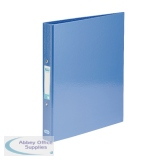 Elba Classy Ringbinder A4 Met Blue 3FOR2 (2 + 1 Pack) BX810420