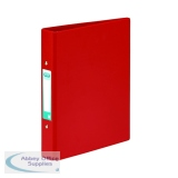 Elba A5 Red 25mm 2 O-Ring Binder (10 Pack) 100082444