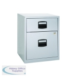 Bisley 2 Drawer A4 Home Filer Grey BY11112