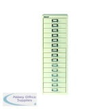 Bisley 15 Drawer A4 Cabinet Chalk White BY15308