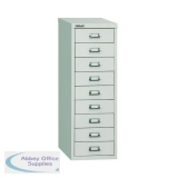 Bisley 9 Drawer A4 Cabinet Grey H399NL-073