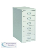 Bisley 6 Drawer A4 Cabinet Grey H296NL-073
