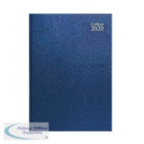 Collins Desk Diary A4 Week to View 2020 Blue 40