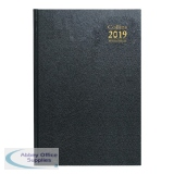 Collins Desk Diary 2019 A4 Day/Page Appointments Diary Assorted A44