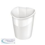 CEP Ellypse Xtra Strong Waste Bin 15 Litre Arctic White 1003200021