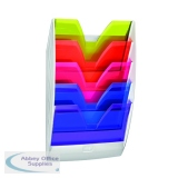 CEP Wall File 5 Compartment Rainbow Multicolour 154HM