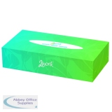 2Work Facial Tissues Box 100 Sheets (36 Pack) KMAX10011
