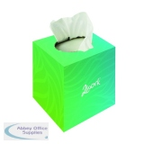 2Work Facial Tissues Cube 70 Sheets (24 Pack) KMAX10010