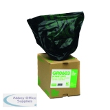 The Green Sack Black Rubble Sack in Dispenser (30 Pack) VHPGR0603