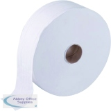 Maxima Jumbo Toilet Roll 2-Ply White 410 Metre (6 Pack) KMAX2592