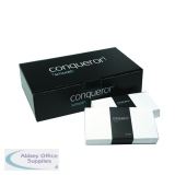 Conqueror Wove 110x220mm Brilliant White DL Wallet Envelope (500 Pack) CWE1007BW
