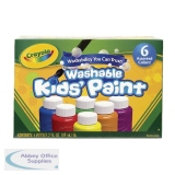 Crayola Washable Kids Paint Colours (36 Pack) 54-1204