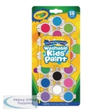 Crayola Washable Kids Poster Paints (108 Pack) 54-0125