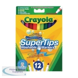 Crayola Bright Supertips (72 Pack) 3.7509