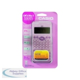 Casio Pink Scientific Calculator Twin-Powered FX-85GTPLUS (Pink)