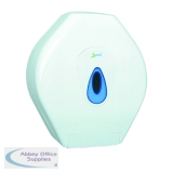 2Work Mini Jumbo Toilet Roll Dispenser DS924E