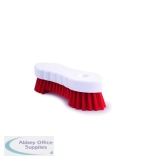 Hand Held Scrubbing Brush Red VOW/20164R