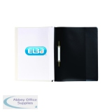 Elba A4 Black Pocket Report File (25 Pack) 400055036