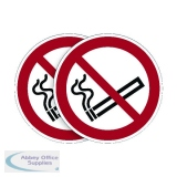 Durable Smoking Prohibited Sign (5 Pack) BOGOF DB18737