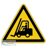 Durable Caution Forklifts Floor Sign 173404
