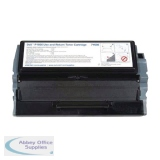 Dell 1700 Use/Return Toner Cartridge K3756 Black 593-10102