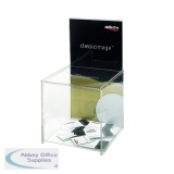 Deflecto Suggestion Box with Sign Holder DE66001