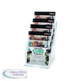 Deflecto Clear A5 4-Tier Literature Holders DE779YTCRY