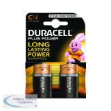 Duracell Plus Size C Battery (2 Pack) 81275429