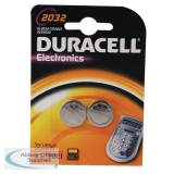 Duracell Button Battery Lithium 3V DL2032 7031684 15074604