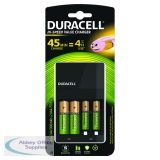 Duracell Black 4 Hour Battery Charger 81528873