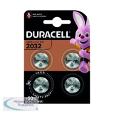 Duracell 2032 Lithium Coin Battery (4 Pack) ECR2032