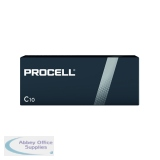 Duracell Procell C Batteries (10 Pack) 5007609