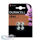 Duracell LR44 Alkaline Button Batteries (4 Pack) A76/4