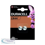 Duracell LR44 Alkaline Button Batteries (2 Pack) A76/2