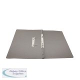 Rexel Jiffex Transfer File Foolscap Grey (50 Pack) 43215EAST