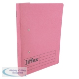 Rexel Jiffex Transfer File A4 Pink (50 Pack) 43247EAST