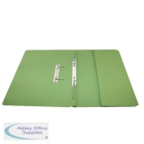 Rexel Jiffex Pocket Transfer File Foolscap Green (25 Pack) 43314EAST