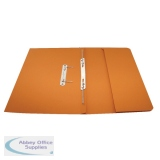 Rexel Jiffex Pocket Transfer File Foolscap Orange (25 Pack) 43316EAST