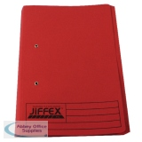 Rexel Jiffex Pocket Transfer File Foolscap Red (25 Pack) 43318EAST
