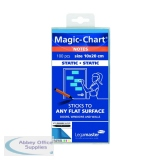 Legamaster Magic Notes 200x100mm Blue with Pen (100 Pack) 7-159410