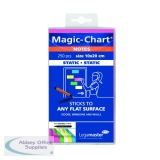 Legamaster Magic Notes 200x100mm Assorted with Pen (250 Pack) 7-159494