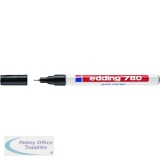 Edding 780 Paint Marker Black Pack of 10 4-780001