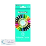 Classmaster Colouring Pencils Assorted (12 Pack) CPW12